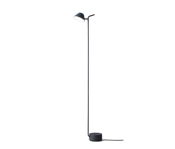 Peek Floor Lamp | Black by MENU | Free-standing lights