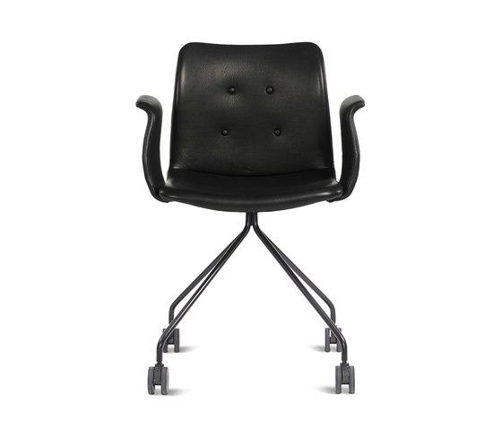 Primum Arm Chair black wheel base by Bent Hansen | Task chairs