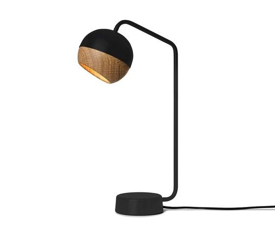 Ray Table Lamp - Black di Mater | Lampade tavolo