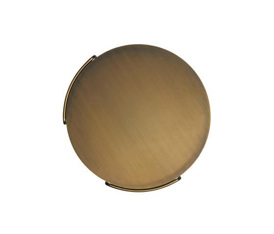 Oki occasional table brass de Walter K. | Mesas auxiliares
