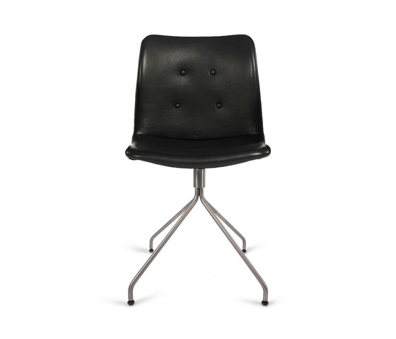 Primum Chair stainless swivel base de Bent Hansen | Chaises