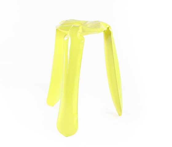 Plopp Stool | Kitchen | yellow de Zieta | Taburetes