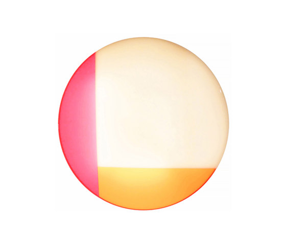 Luma Light | Round: White, Pink and Orange de Videre Licet | Éclairage général