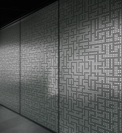Licht und Schatten   04.112.1   Grafik von ornament.control   Holz Platten