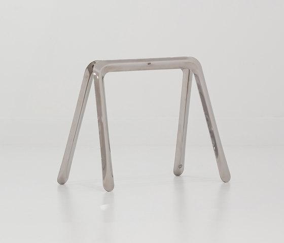 Koza II   inox steel by Zieta   Trestles