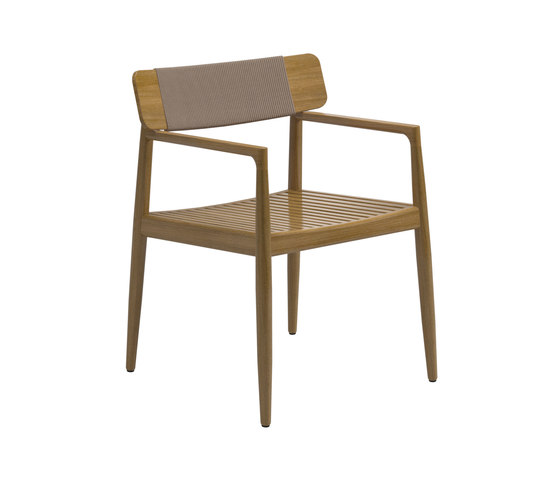 Archi Dining Chair with Arms de Gloster Furniture GmbH | Sillas