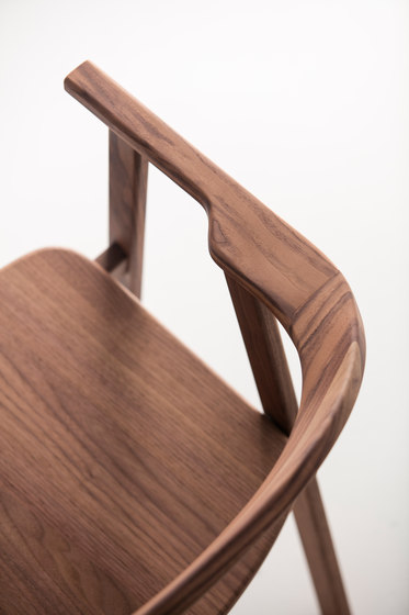 Tukki Chair WN by Meetee | Visitors chairs / Side chairs