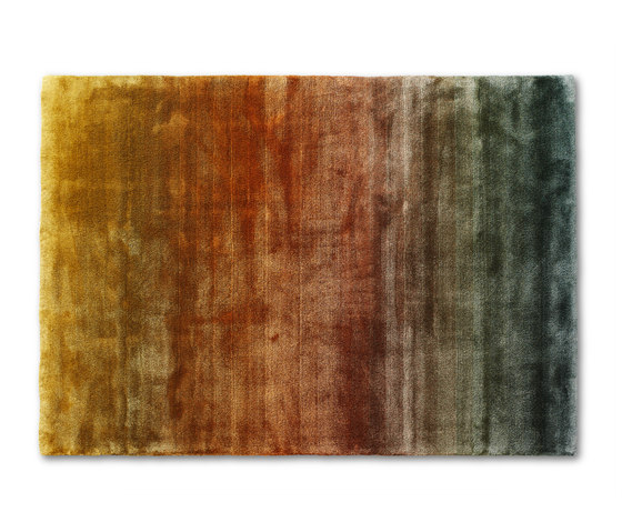 Astro Shade | Green Rusty Gold by Ogeborg | Rugs