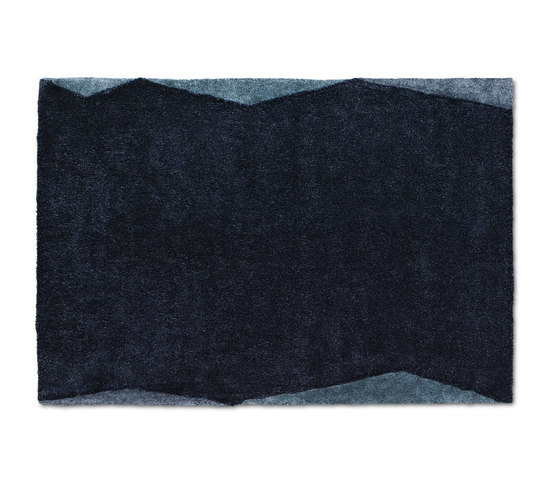 Bevel | Blue by Ogeborg | Rugs