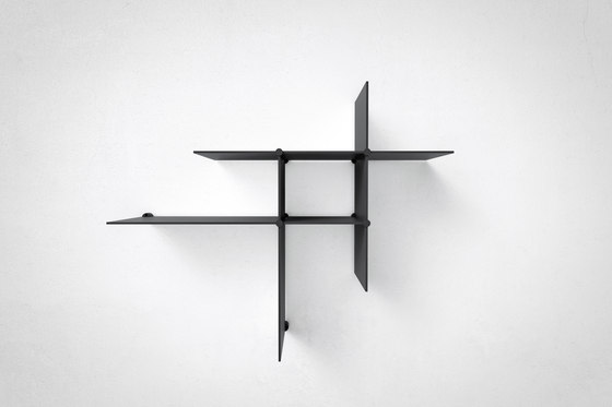 Up The Wall black by Bent Hansen | Shelving