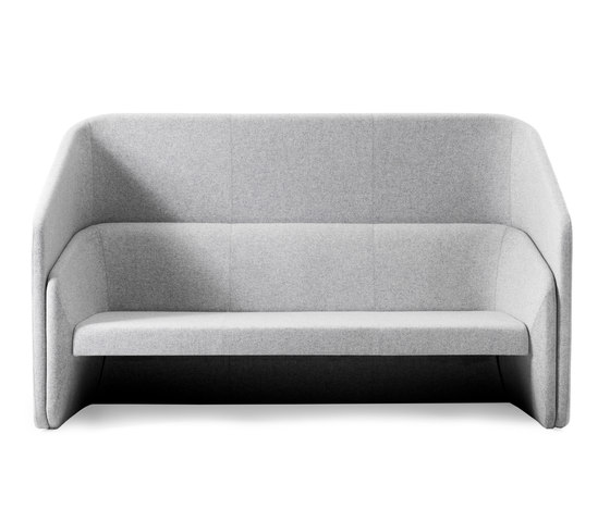 Race 3 seater sofa with screen de Johanson | Canapés d'attente