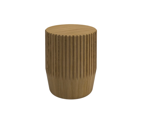 Arbor Round Stool / Side Table by Gloster Furniture GmbH | Side tables