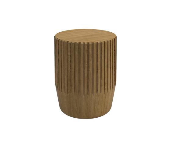 Arbor Round Stool / Side Table di Gloster Furniture GmbH | Tavolini alti