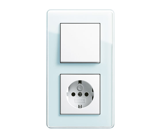 Esprit Glass C | Switch range by Gira | Push-button switches