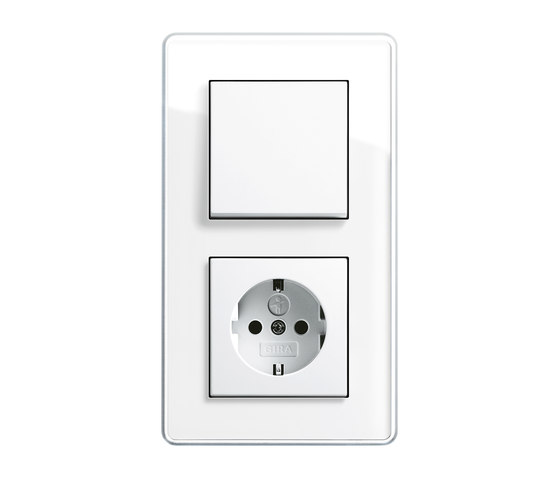 Esprit Glass C | Switch range di Gira | interuttori pulsante