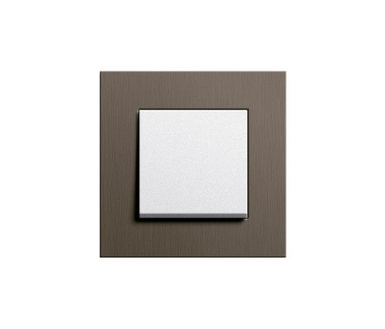 Esprit Aluminium | Switch range di Gira | interuttori pulsante