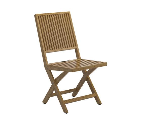 Voyager Folding Chair de Gloster Furniture GmbH | Sillas
