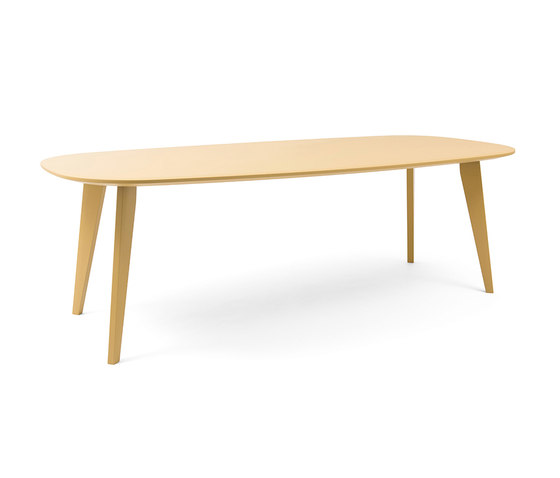 Sqround Extended Table by Tristan Frencken | Restaurant tables