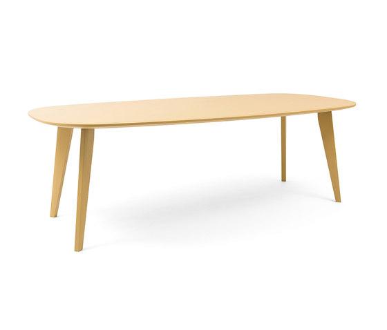 Sqround Extended Table de Tristan Frencken | Mesas para restaurantes