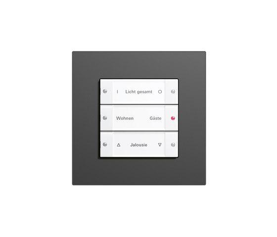 Esprit Linoleum-Plywood | Touch sensor for illumination scenes di Gira | Gestione luci