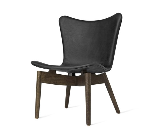 Shell Lounge Chair - Dunes Anthrazit - Sirka Grey Oak by Mater | Armchairs