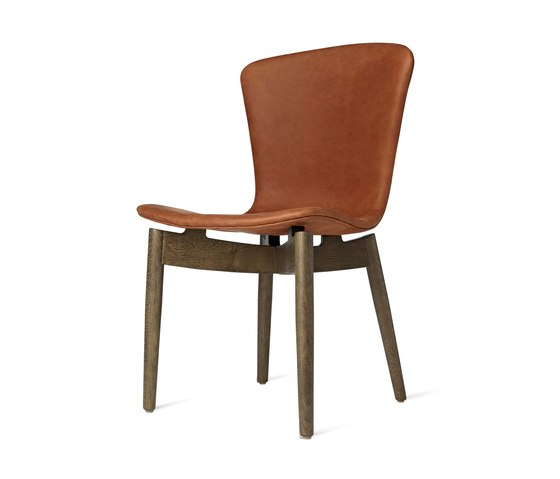 Shell Dining Chair - Dunes Rust - Sirka Grey Oak by Mater | Chairs