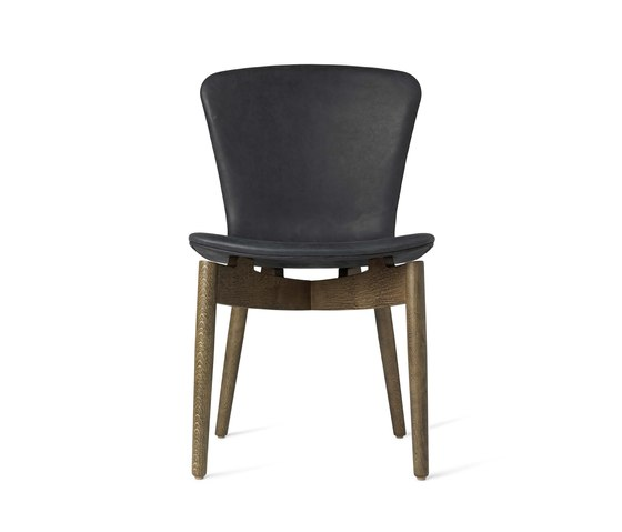 Shell Dining Chair - Dunes Anthrazit - Sirka Grey Oak by Mater   Chairs