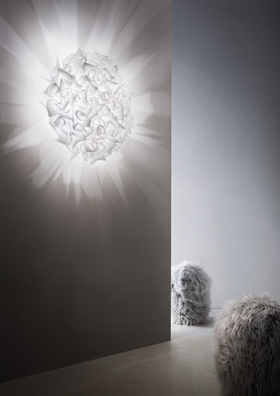 Veli Couture Large ceiling/wall de Slamp | Iluminación general