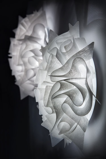 Veli Couture ceiling/wall by Slamp | General lighting