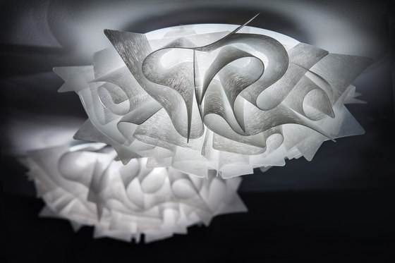Veli Couture mini ceiling/wall by Slamp | General lighting