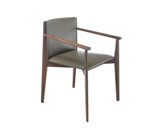 Ionis armchair by Porada | Restaurant chairs