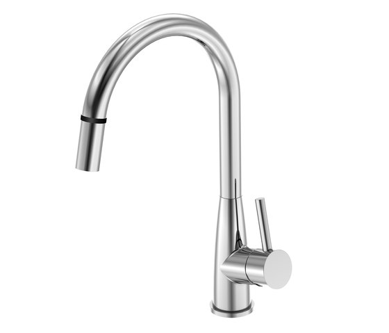 100 1485 Single lever sink mixer with touch-function by Steinberg | Kitchen taps