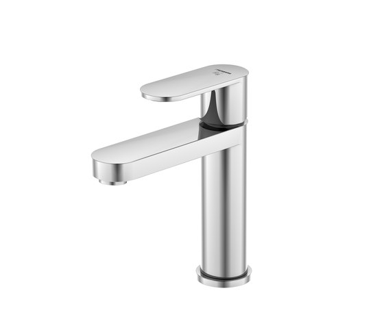 170 1010 1 Single lever basin mixer without pop up waste by Steinberg | Wash basin taps