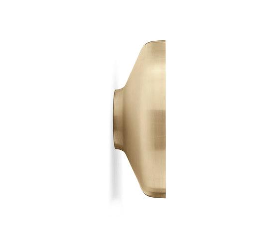 Darkly Mirror | Brushed Brass by MENU | Mirrors