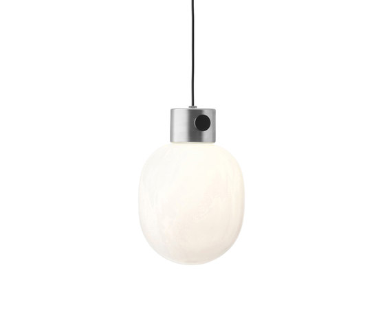 JWDA Pendant Lamp | Brushed Steel by MENU | Suspended lights