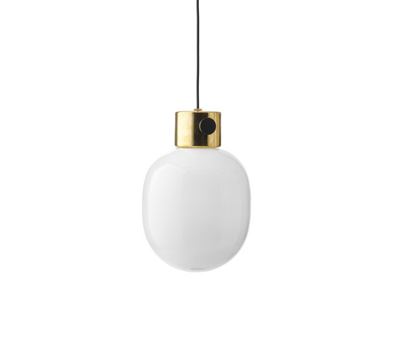 JWDA Pendant Lamp | Polished Brass by MENU | Suspended lights
