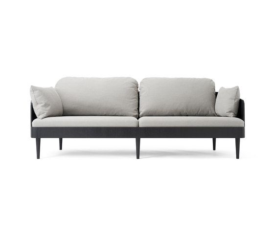 Septembre Sofa | Black Ash/Light Grey de MENU | Canapés