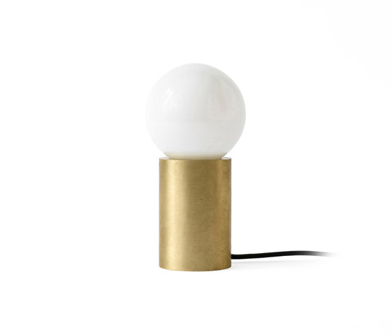 Socket | Occasional Lamp Brushed Brass by MENU | General lighting