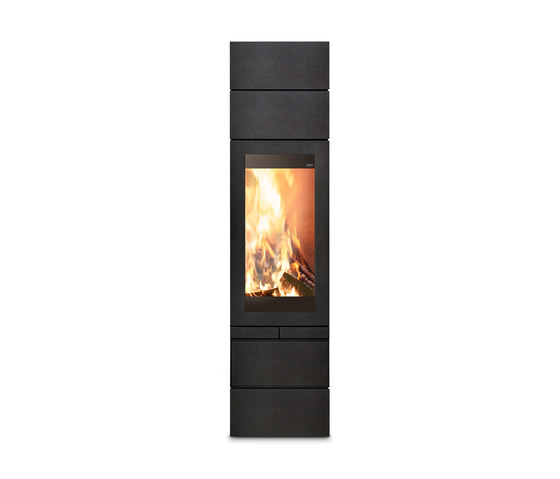 elements 400 front wood burning stoves from skantherm architonic. Black Bedroom Furniture Sets. Home Design Ideas