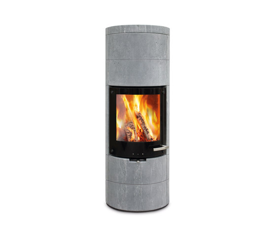 Milano stein by Skantherm   Stoves