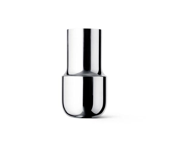 Tactile Vase Tall   Stainless Steel de MENU   Vases