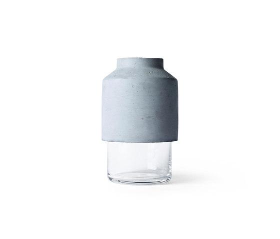 Willmann Vase | Light Grey by MENU | Vases