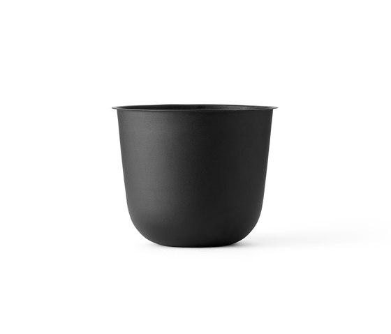 Wire Pot | Black by MENU | Plant pots