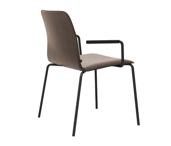 Maverick Plus stackable chair by KFF | Visitors chairs / Side chairs