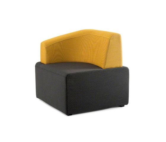 B-Free Cube by Steelcase | Modular seating elements