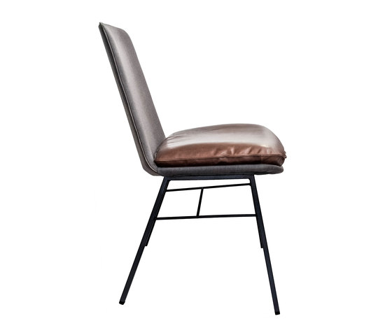 Lhasa Side Chair by KFF | Visitors chairs / Side chairs