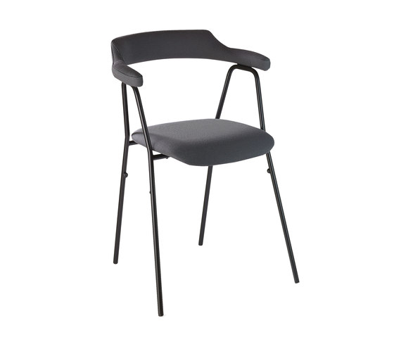 4455 Chair Textile de Rex Kralj | Sillas de visita