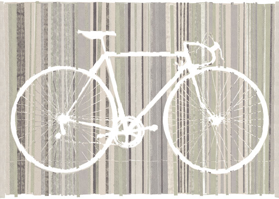 Bicycle Trace de TECNOGRAFICA | Peintures murales / art