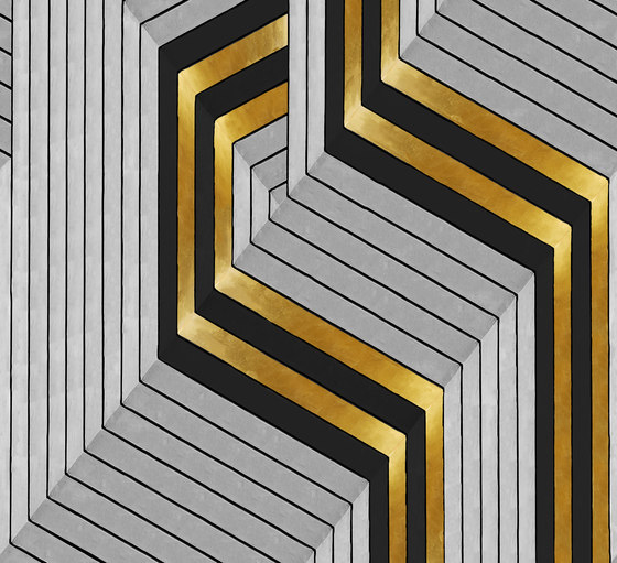 GOLDEN HOOK by Wall&decò | Wall coverings / wallpapers
