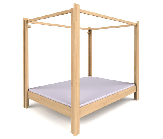 Canopy Bed DBB-100C-140 by De Breuyn | Four poster beds
